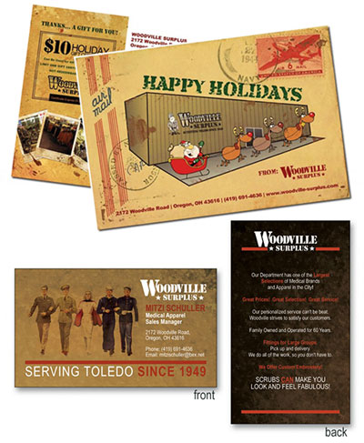 Woodville Surplus Media & Collateral
