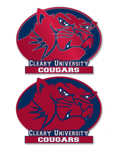 Cleary Cougar - Sports Logo